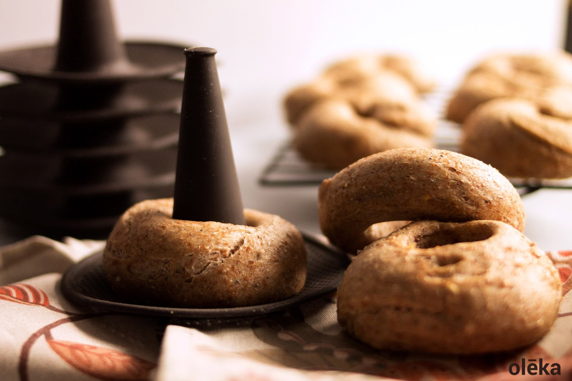 bagels caseros semiintegrales