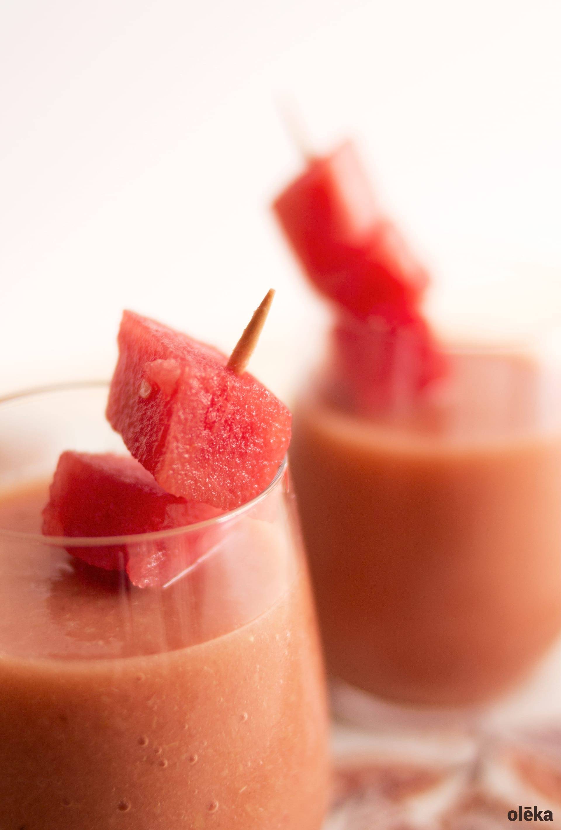 smoothie refrescante de verano
