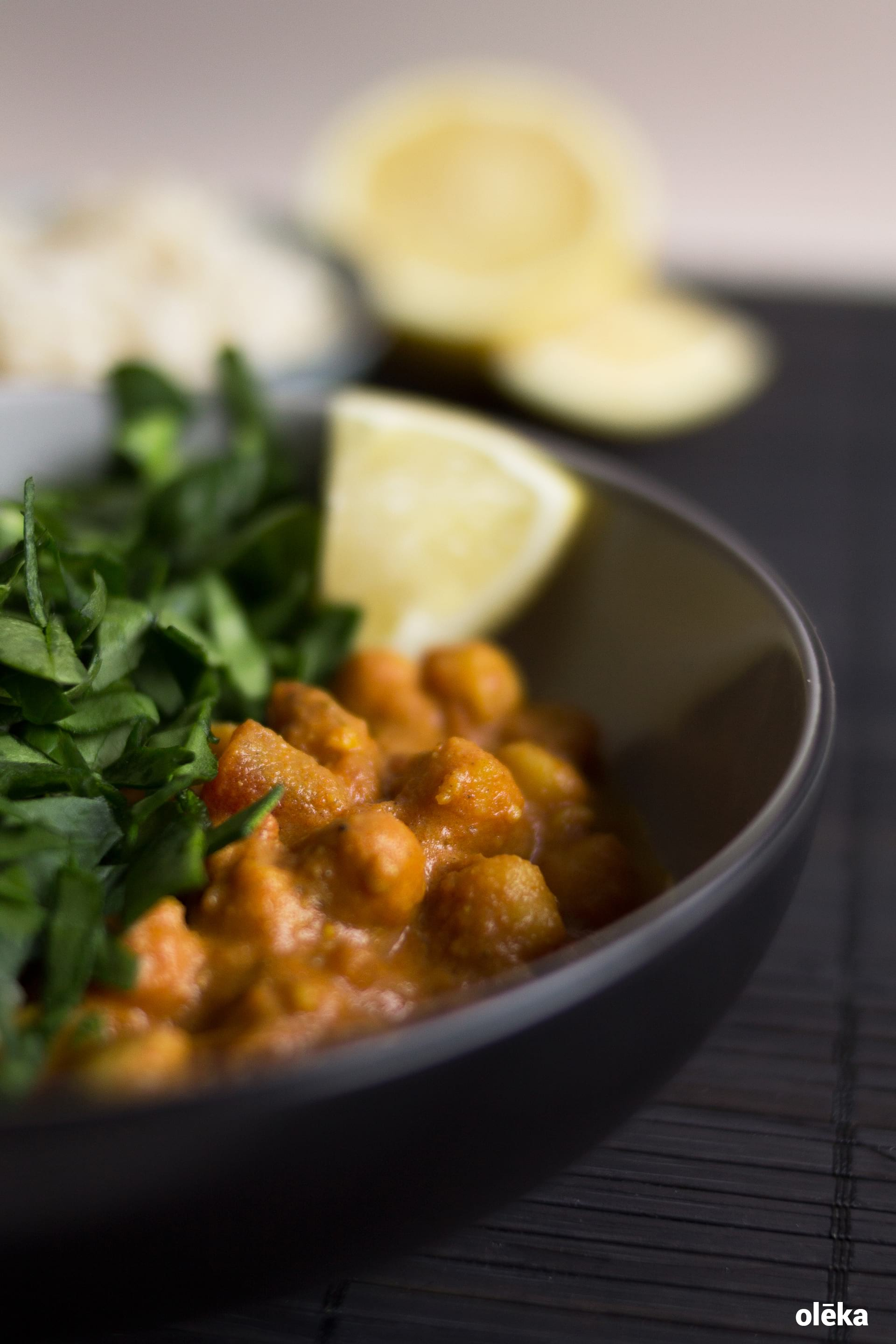 curry de garbanzos vegano