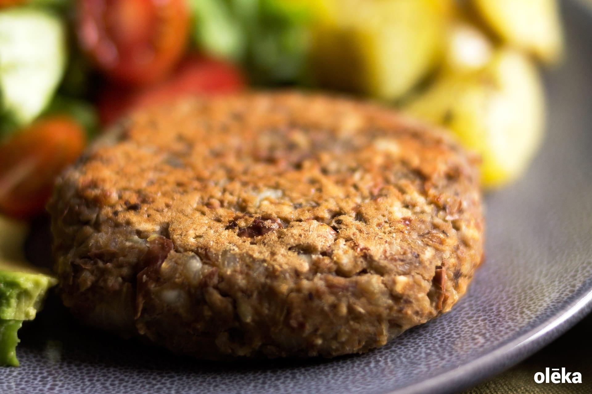 hamburguesa vegana formula basica